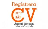 Registrera ditt CV här!